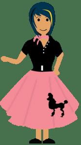 poodle-skirt-girl