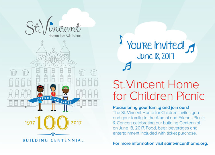 St. Vincent Alumni and Friends Picnic and Concert @ St. Vincent Home for Children | St. Louis | Missouri | United States