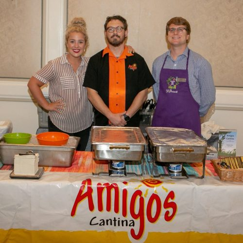 Amigos Cantina with Celebrity Zach Factor (Producer, Marc Cox Morning Show)