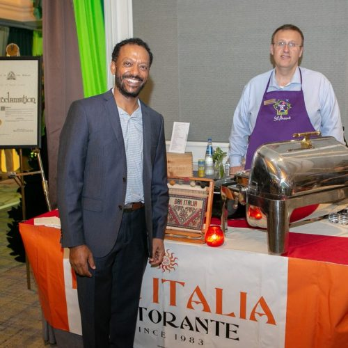 Robel Yohannes, Bar Italia, and Representative Bryan Spencer